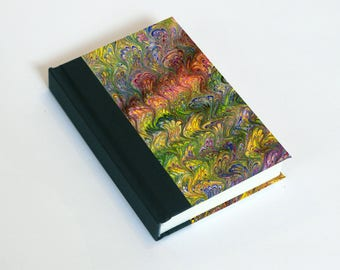 "Sketchbook 4x6"" with motifs of marbled papers - 33"