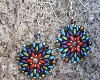 Boho Earrings| Mandala Earrings| Bohemian Earrings|Gift for Her