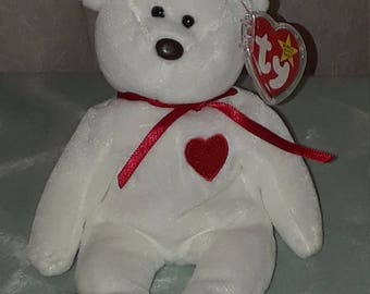 "Ty Beanie Babies ""Valentino"" Retired Many Errors"