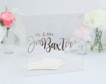 Wedding card box Etsy