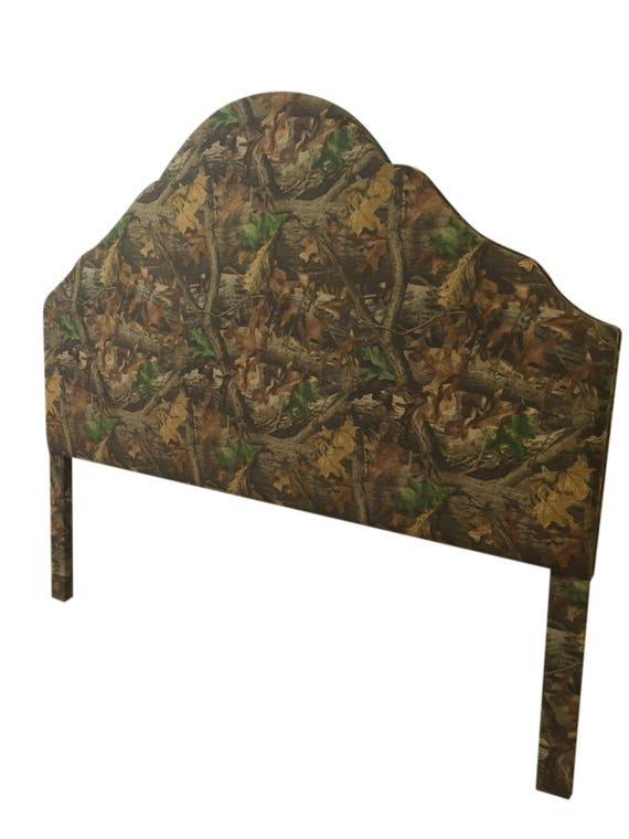 Cabina muebles camuflaje tela King Size tapizado cabecero rey