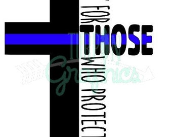 Pray for those who Protect us SVG PACK