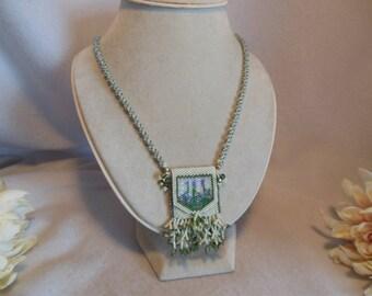 Pale Green Amulet Bag