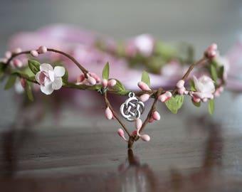 Flowers Crown for elven Celtic