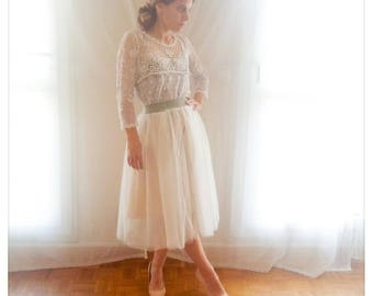 Good idea: skirt tulle bespoke and customizable with interchangeable breadth.