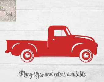 Truck Wall Decal Etsy