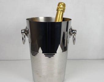 Vintage French Champagne bucket, Champagne cooler, Wine cooler