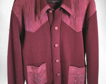 Ward Vintage Red Jacket