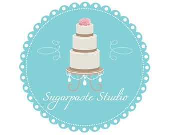 Custom Brand Design For Wedding Boutique Or Photographer, Wedding Photographer Logo Design In Teal