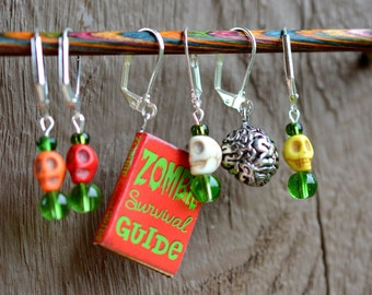 Night of the Living Crocheter Crochet Stitch Markers