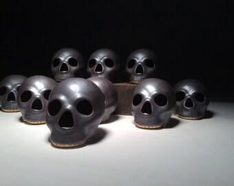iron oxide skulls