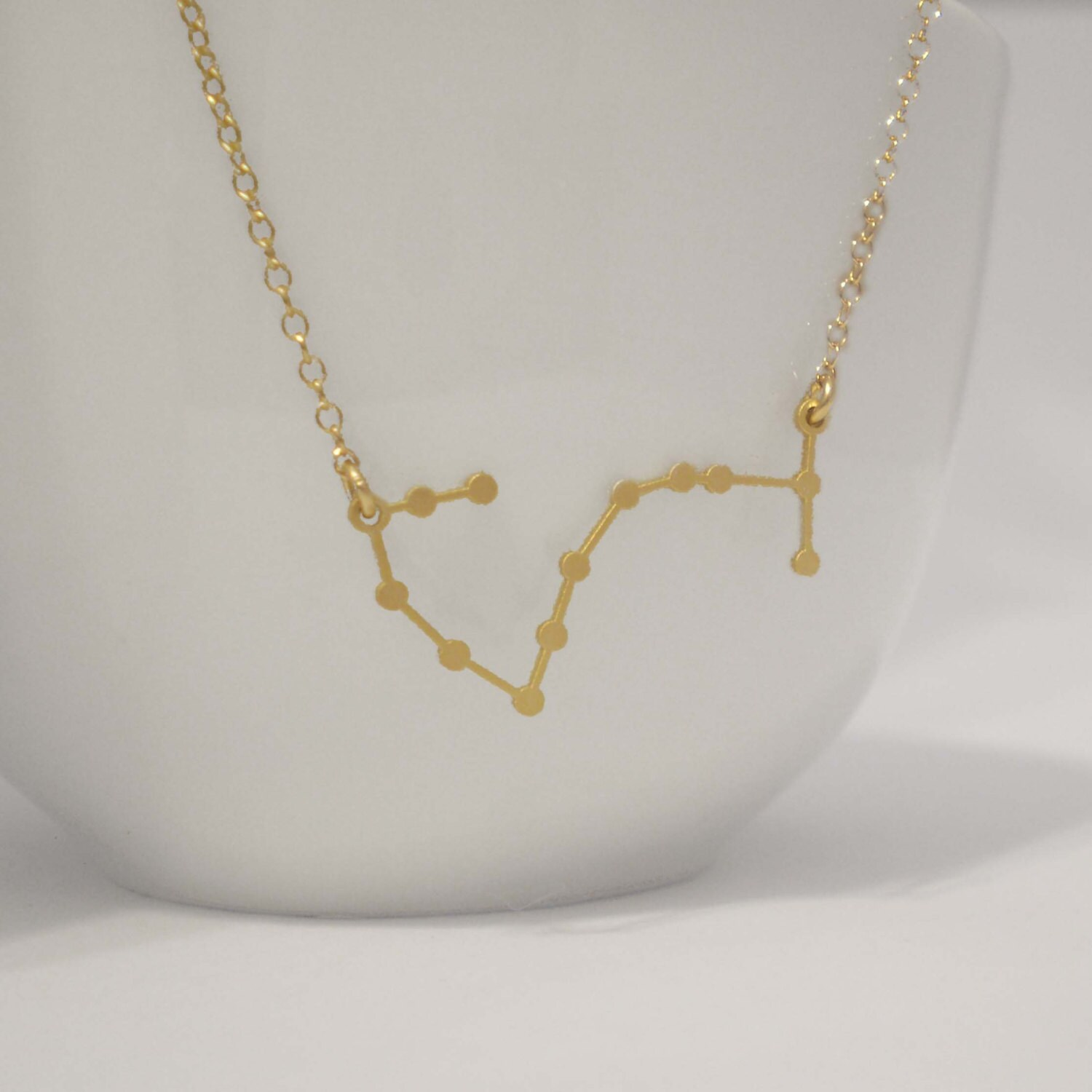 Scorpio constellation necklace zodiac constellation zoom mozeypictures Images