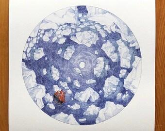 Arctic Circle Print