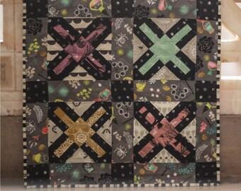 painted ladies quilt pattern pdf