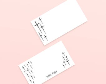 Bible Note Cards for Bible Journaling, Notes, & More!