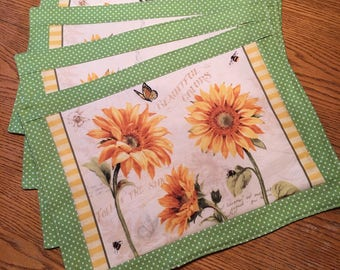 Seasonal Kitchen Table Placemats
