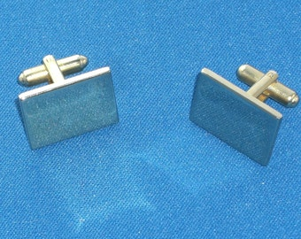 Cuff Links - Gold Tone - Vintage