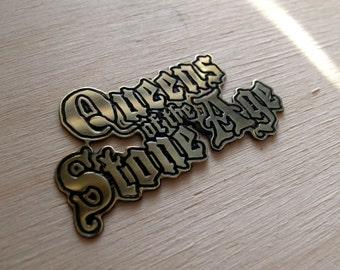 Queens of the Stone Age Brass Pin, Soundgarden Kyuss Nirvana  !!!