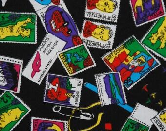 Vintage Postage Stamps Print