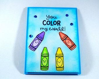 Anniversary Card/ birthday card/ Masculine card / Card for spouse/ card for her/ Kids birthday/ Card for him