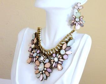 Statement Jewelry Set, Statement necklace - Charlotte