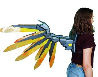 Overwatch Mercy Devil / Imp wings