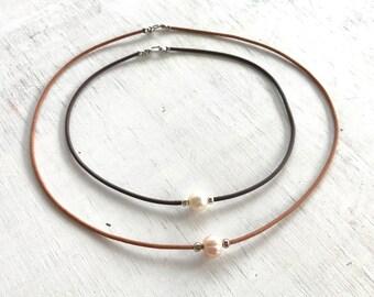 Pearl of Wisdom Choker, ZEN by Karen Moore Jewelry