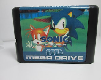 Sonic the Lost Worlds Genesis homebrew game Sega Mega Drive fan made