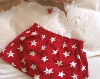 Toddler girls mini skirt and bloomers