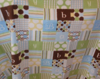 Baby Boy Cozy Blanket