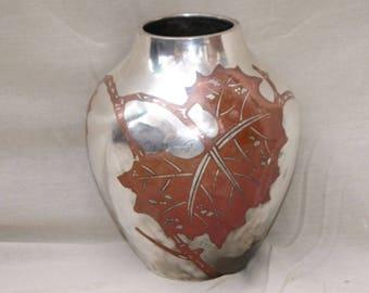 1930s Art Deco WMF Ikora gl vase on