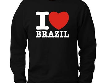 I Love Brazil Sweatshirt