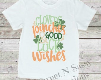 Good Luck Wishes Onesie/Tee
