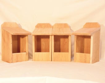 4 Cedar Nesting Boxes