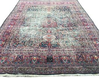 Industrie Teppich große vintage oushak medaillon teppich 16 jahrhundert entwurf