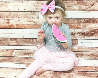 Watermelon Headband- Watermelon Bow; Watermelon Hair Bow; Watermelon Nylon Headbands; Watermelon Accessories; Nylon Headband; Bow Headband