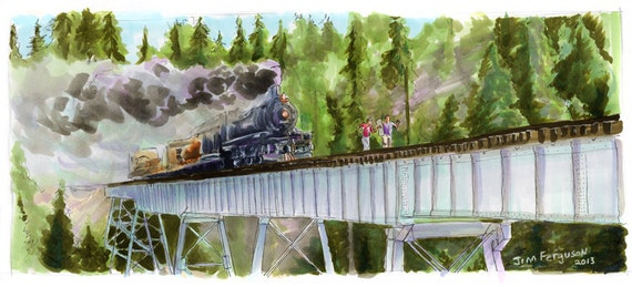 Stand By Me - Hey Atleast Now We Know When the Next Train was Due Poster Print