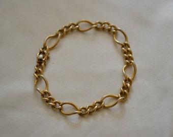 Gold Filled Link Chain Bracelet