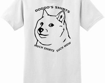 Doggo's shirts