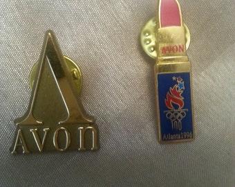 Set of 2 Avon Pins