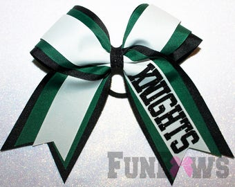 Awesome Custom Cheer Team Bow Football Softball Basketball - by FunBows !