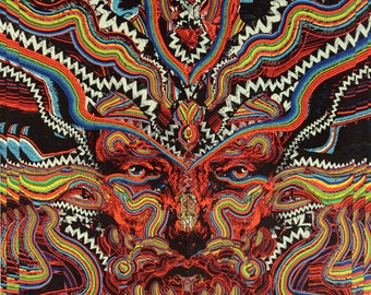 Psychedelic 3D Bicycle Day Tapestry Trippy 60 X 90 hippie art wall hanging  Albert Hofmann