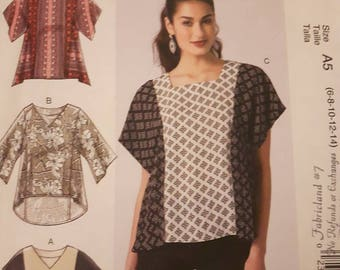 McCall's 7361, Summer Top Sewing Pattern