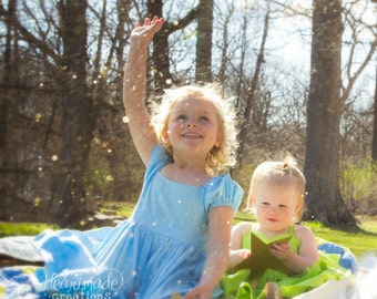 Wendy Darling - Character Inspired Dress - Peter Pan - Neverland Collection - Sizes 12/18months through 10