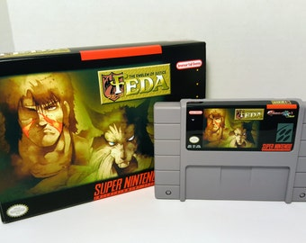 FEDA: The Emblem of Justice - English SNES ntsc Translation