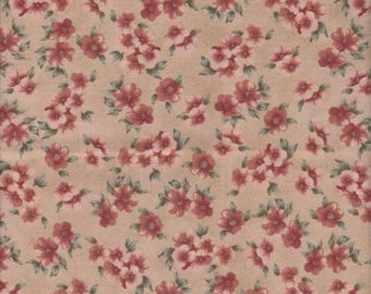 A Tisket A Tasket, Marcus Brothers, Floral Print Fabric, 1 yard
