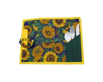 Sunflower doily