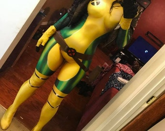 X-Men Rogue costume For Men Women And Kids costumes cosplay clothing - Made To Order