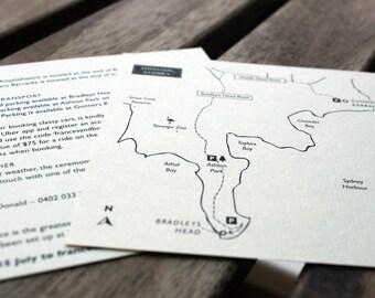 Custom Map Design / Wedding Venue Maps - Design Only