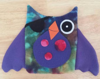 Pirate owl hand puppet